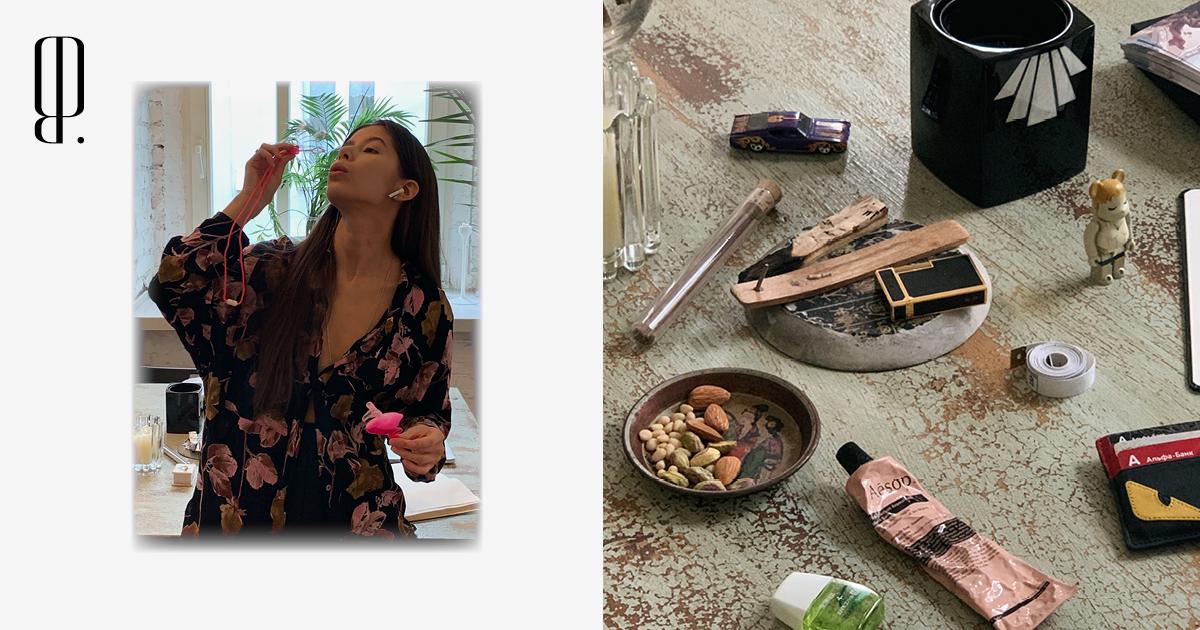 Мыльные пузыри, винтажная посуда и благовония — в гостиной основательницы АУТЛО Диляры Минрахмановой