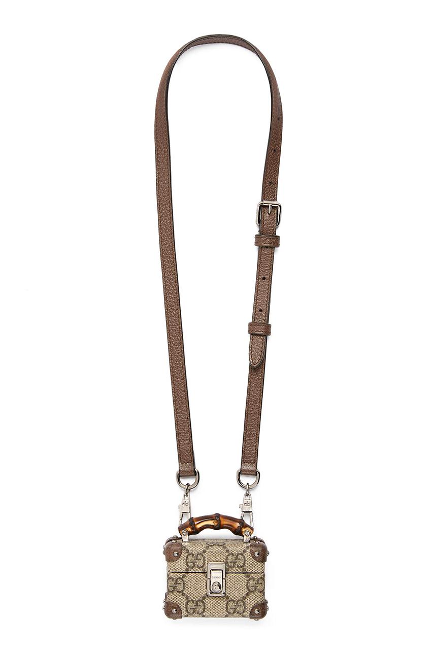 Вслед за Chanel: Gucci выпустили чехлы для Airpods в виде мини-сумок
