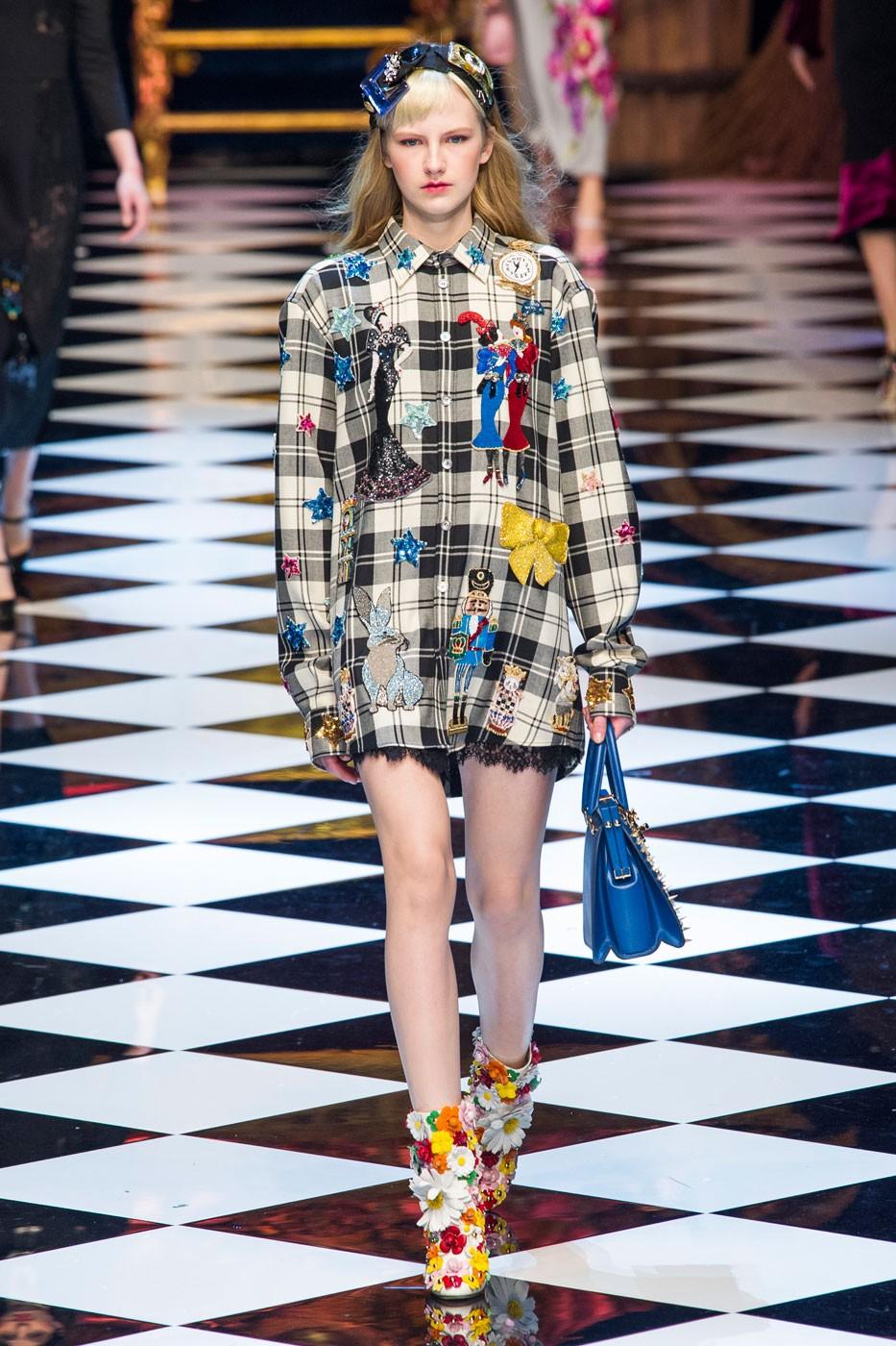Dolce & Gabbana, աշուն-ձմեռ ՛16/17 հավաքածու