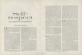 definition essay on self respect