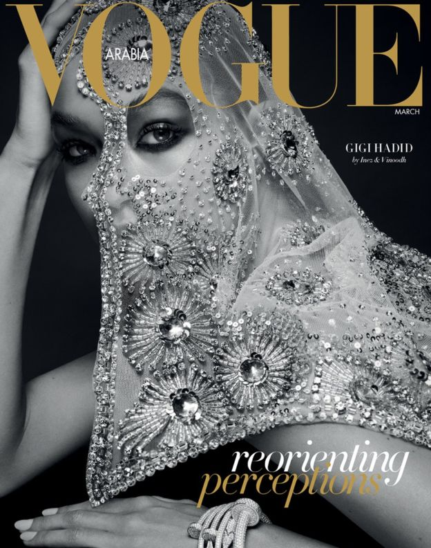 Vogue Arabia adds perspective on womens veil | Rashmee
