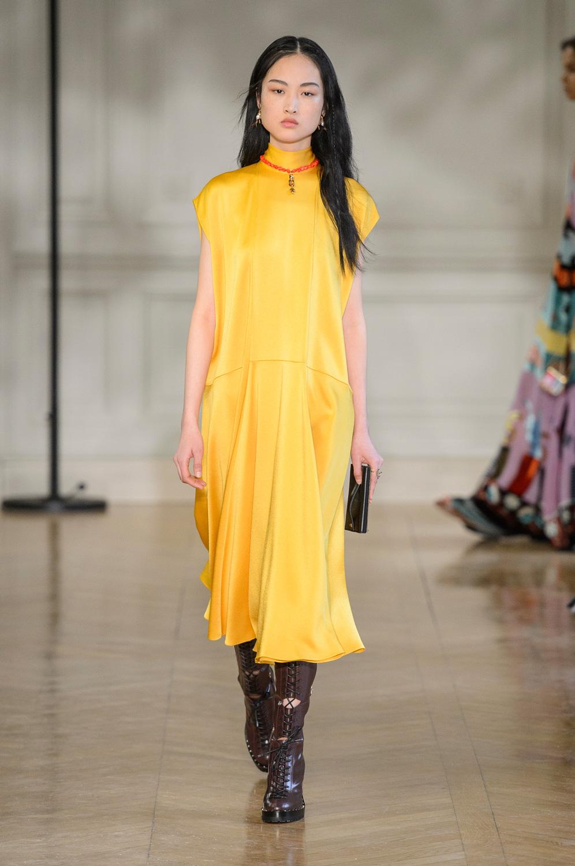 Мода на платья осень 2017