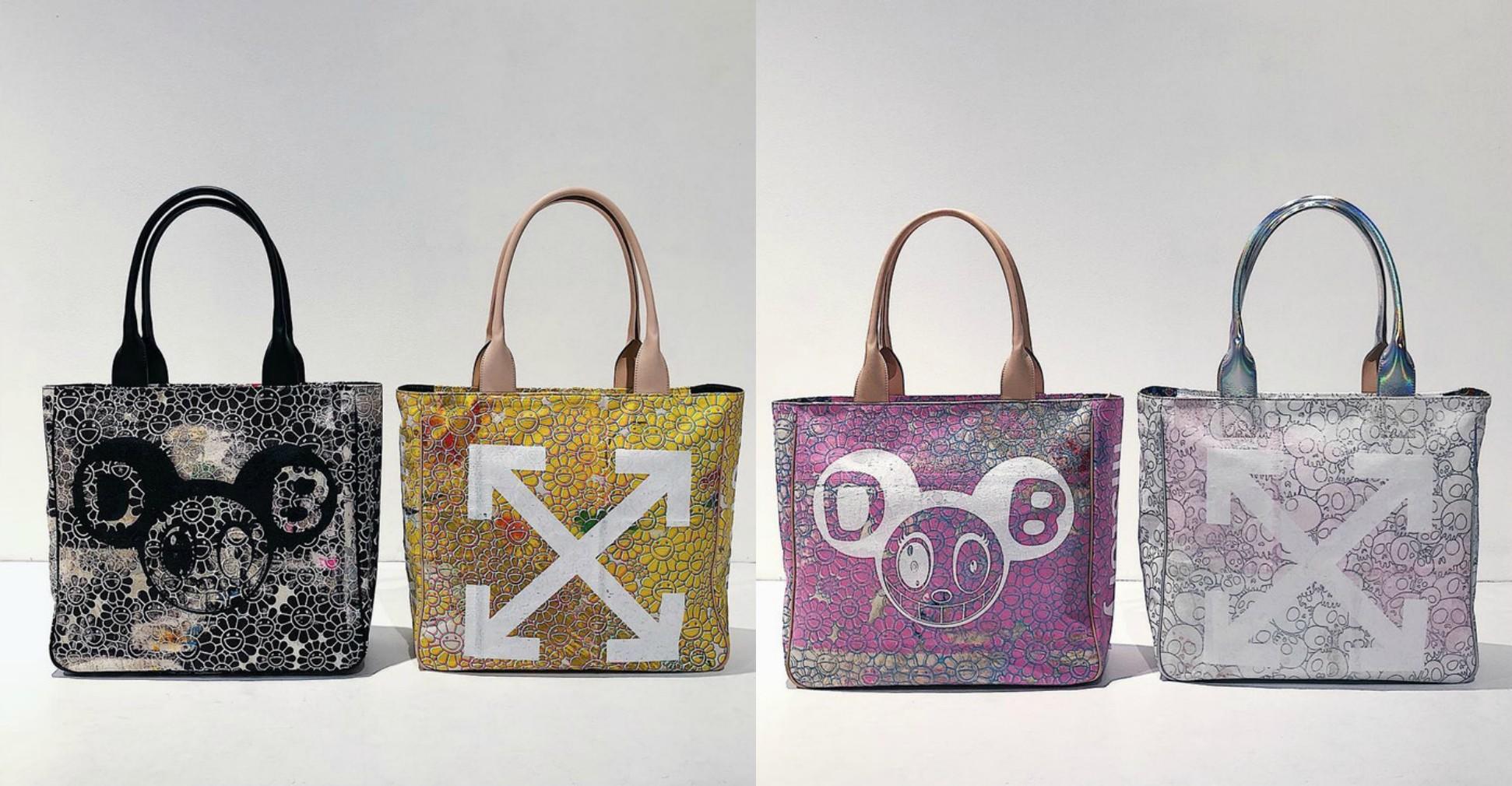 Off-White и Такаси Мураками создали коллекцию сумок 5468e5c1308